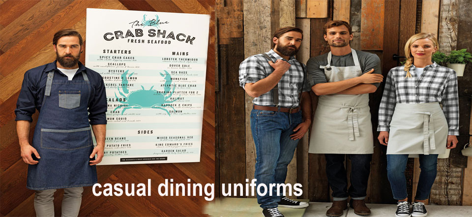 casual aprons